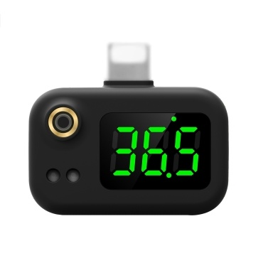 Smart Mobile Phone Thermometer Non Contact Digital Temperature Sensor Android Interface