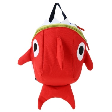 Kids School Bags Nylon Cute Cartoon Sharp Travel Backpack Children Kindergarten Schoolbags Green