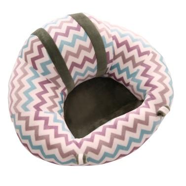 Baby-Stützsitz Weicher Plüsch-Bodensitz