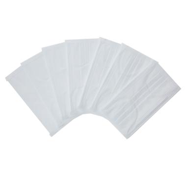Carevas 50PCS Earloop Entsorgung Gesichtsmasken 3-lagig Vlies Filter Maske für Staub / Luft / Grippe Germ / Geruch