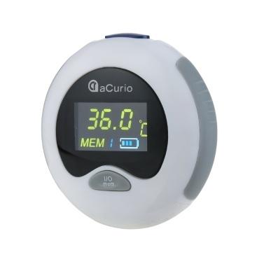 ACurio AT-601 Thermomètre Numérique Infrarouge LCD Moniteur de Température Mini Thermomètre Oreille pour Bébé Enfants