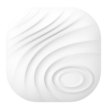 BT Anti-verlorene Tracker Smart Tag Zwei-Wege-Alarm GPS Locator Kinder / Telefon / Schlüssel / Brieftasche / Gepäck / Item Finder für iOS / Android grau