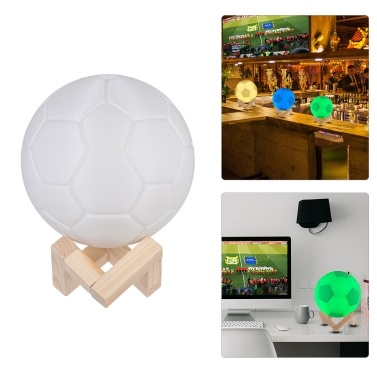 61% OFF 2018 World Cup Football 7-Color Night Light Ball,limited offer $11.99