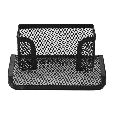 Metal Mesh Business Card Holder Display Organizer Stand for Desk Office