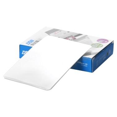 "DSB 80mic 3"" Laminating Film Clear Sheet EVA Bond for Photo Paper Laminating Home Studio Office Supply100 Sheets"