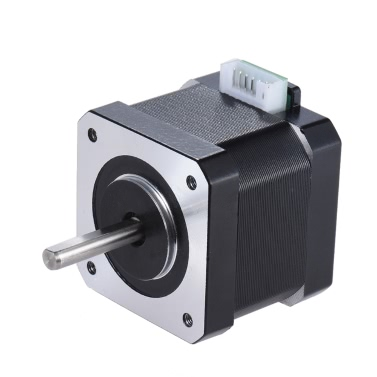 1pcs Nema 17 Stepper Stepping Motor Drive Control 2 Phase 1.8 Degree 0.9A 0.4N.M 42mm 90cm Lead Cable 3D Printer/CNC Accessory Replacement