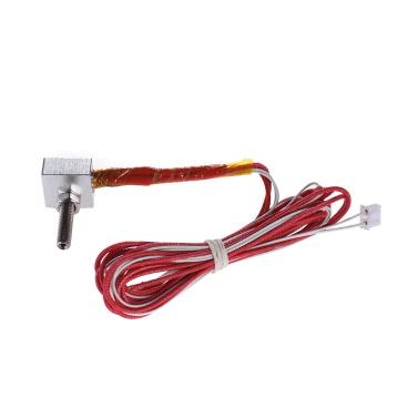 DIY Hot End Kit 0.4mm Düse & M6 30mm Extruder Throat & 12V 40W Heizung & NTC 3950 Thermistoren & Aluminium Heizblock für RapRep Prusa i3 Anet A2 A8 3D-Drucker Ersatz