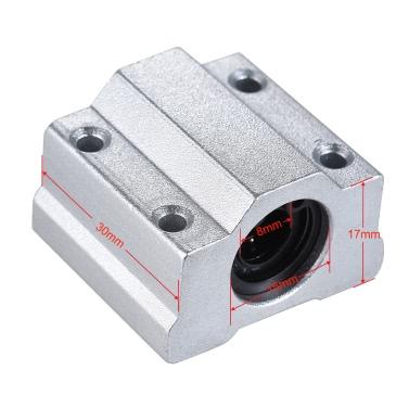 SCS8UU 8mm Linear Motion Kugellager Block CNC Router Slide Unit Reprap 3D Drucker DIY Kit Teile Zubehör