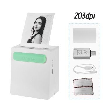 PeriPage A8 203dpi Tragbarer Mini Pocket Wireless BT Thermodrucker