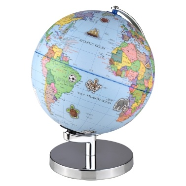 G902 9-Zoll-AR-Globus mit zweisprachigem Wechsel zwischen Spanisch und Englisch mit Nachtlicht