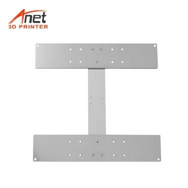 Anet Aluminiumlegierung Y Wagenplatte Upgrade Feste Platte 3D-Drucker Zubehör für die Befestigung Heizplattform Heizbett Hotbed Support Beheiztes Bett für Anet A8