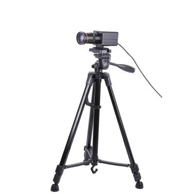 Aibecy 4K HD-Kamera Computer Kamera Webcam 8 Megapixel 10X Optischer Zoom 60 Grad Weitwinkel Manueller Fokus Automatische Belichtungskorrektur mit Mikrofonstativ USB Plug & Play für Videokonferenzen Online-Unterricht Chatten Live-Webcasting