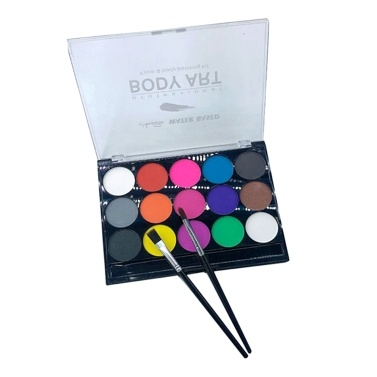 15 Farben Face Body Painting Kit