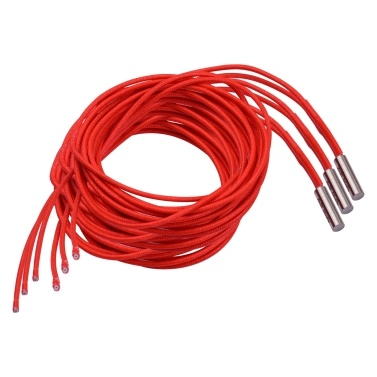 Aibecy 2pcs 24V 40W 6*20mm Single End Cartridge Heater Heating Tube 1.6m/5.2ft for 3D Printer