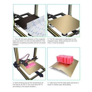 Aibecy PEI Spring Steel Sheet Hotbed Build Platform