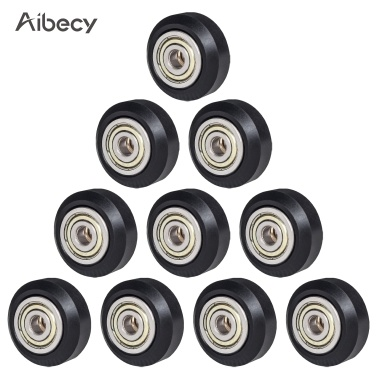 Aibecy 6pcs 3D Printer Parts POM Pulley Wheel