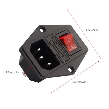 Aibecy 3D Printer Accessories Power Supply Switch Socket