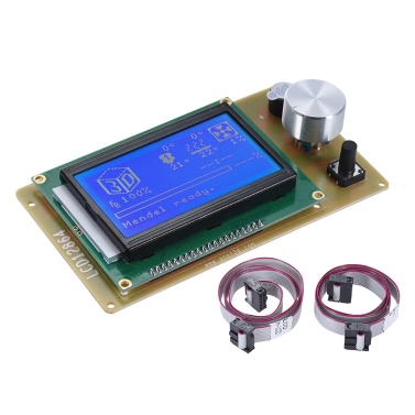 Anet 12864 LCD Smart Display Screen Controller Modul mit Kabel für RAMPS 1.4 Arduino Mega Pololu Schild Arduino Reprap 3D Printer Kit Zubehör