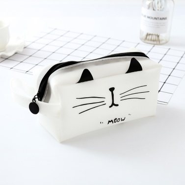 Tragbare Cartoon Pencil Case Aufbewahrungstasche