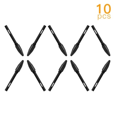 Huion PN01 10pcs Replacement Nibs Pen Tips Compatible with PEN68/PEN80 Graphics Drawing Tablet Stylus Black