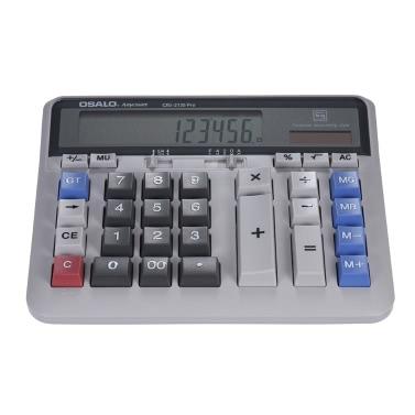 Großer Computer Elektronischer Taschenrechner Zähler Solar- u. Batterieleistung 12-stelliger Anzeigen-Multifunktionsgroßer Knopf für Geschäfts-Büro-Schule, die berechnet