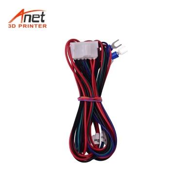 Anet Hotbed Wire (20AWG) Beheiztes Bettkabel für Anet A8 Plus E16 3D-Drucker Upgrade Lieferanten Zubehör Länge 90 cm