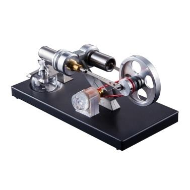 Modelo de motor de motor Stirling de aire caliente