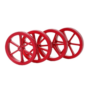 Creality 3D 4pcs 3D Printer Hotbed Platform Upgraded Metal Hand Twist Leveling Nuts Diameter 60mm Compatible with FDM 3D Printer
