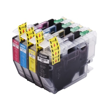Aibecy Compatible Ink Cartridge Replacement for LC3013 LC-3013 LC3011 LC-3011 High Yield Compatible with Brother MFC-J491DW MFC-J690DW MFC-J895DW MFC-J497DW Printer 4-Pack (1 Black, 1 Cyan, 1 Magenta, 1 Yellow)