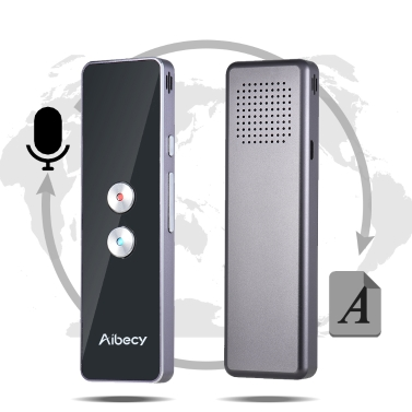 Aibecy Real-time 2-way Instant Multi Language Translator with APP for Business Travel Shopping