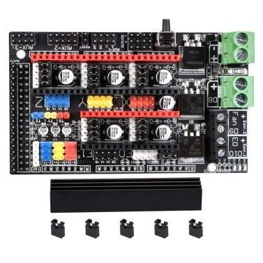 BIGTREETECH Ramps 1.6 Plus Expansion Board Upgraded Control Board Base on Ramps 1.6/1.5/1.4 Support TMC2130 TMC2208 DRV8825 A4988 Driver for 3D Printer
