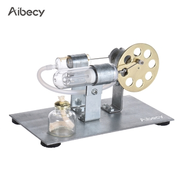 37% OFF Aibecy Mini Hot Air Stirling Engine Motor Model,limited offer $15.99
