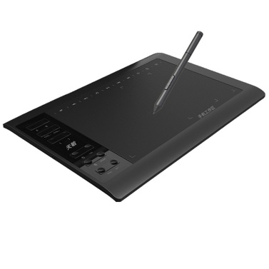10in Professional Graphic Tablet 8192 Levels Digital Drawing Tablet with No need charge Pen Ultralight Grafische Tablet