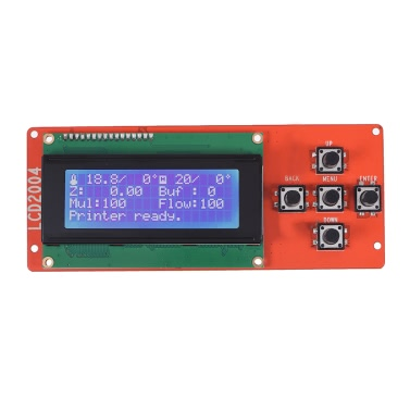 2004 LCD Smart Display Screen Controller Modul mit Kabel für RAMPS 1.4 Arduino Mega Pololu Schild Arduino Reprap 3D Printer Kit Zubehör