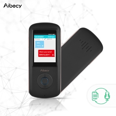 Aibecy A8 Real-time Intelligent Voice Translator 35Language Speech Interactive Interpreter
