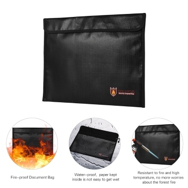 38% OFF Fireproof Document Bag,limited offer $11.49