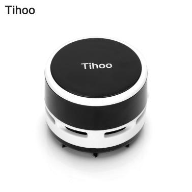 Tihoo Portable Mini Desktop Table Vacuum Cleaner Dust Collector Sweeper
