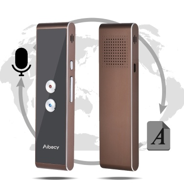 Aibecy T8S Real-time Multi Language Translator Speech/ Text Translation Device with APP