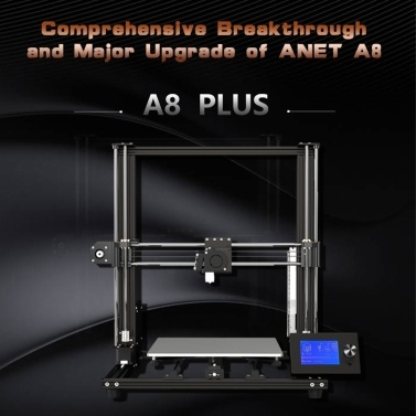 Anet A8 Plus 3D Printer Upgraded DIY Kit With High Precision