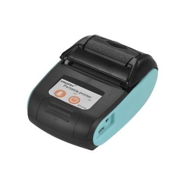 GOOJPRT PT-210 Tragbarer Thermodrucker Handheld 58mm-Empfangsdrucker für Einzelhandelsgeschäfte Restaurants Fabriken Logistik