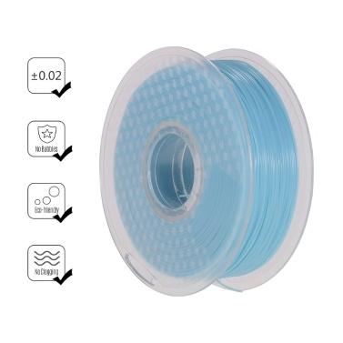 Sonnenlicht- / UV-Lichtfarbe wechselt von blau zu lila PLA-Filament