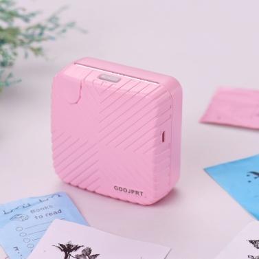 GOOJPRT P6 Pocket Mini Printer Portable BT Wireless Thermal Label Sticker Note Paper AR Photo Picture Instant Mobile Printer