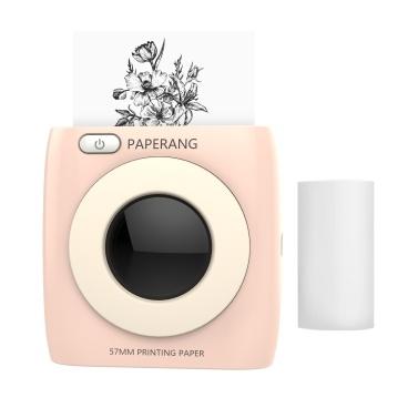 PAPERANG Pocket Printer BT Wireless Printer Portable Thermal Printer 300dpi for Photo Picture Receipt Memo Note Label Sticker
