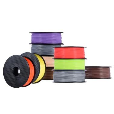 51% de réduction sur le filament PLA 1.75mm 1kg / Roll pour l'imprimante 3D MakerBot Anet RepRap seulement € 19.40 sur tomtop.com + livraison gratuite