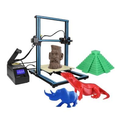 54% de réduction sur le cadre en aluminium du kit d'imprimante 3D DIY Creality 3D CR-10 avec un filament de 200 g seulement € 330,74 sur tomtop.com + expédition à partir de l'entrepôt américain