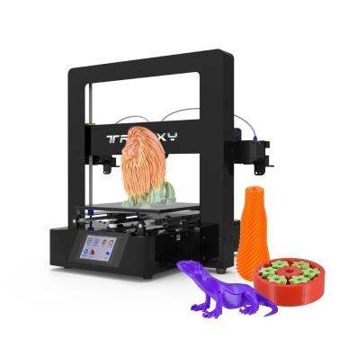 Tronxy X6-2E Einfache Montage 3D-Drucker-Kit mit kostenlosem PLA-Filament