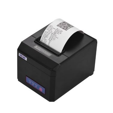 HOIN 80 mm-Thermodrucker unterstützt 58 mm / 80 mm Papierbreite mit automatischem USB-Serial-Ethernet-Interface, das mit ESC / POS-Druckbefehlen kompatibel ist