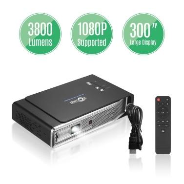 TOUMEI Portable Mini DLP 3D Video Projector