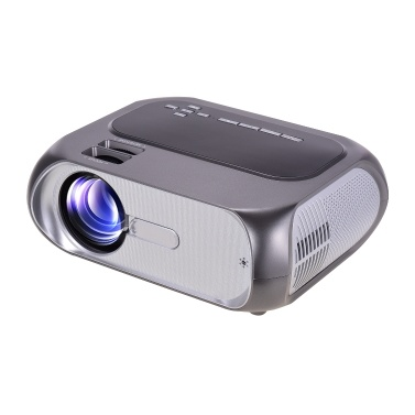 Mini Smart Projector 1080P Supported 200 Inch Display Portable Video Movie Projector WiFI Wireless Screen Share Built-in Speaker Compatible with Smartphone PS4 HD AV USB for Home Theater Entertainment Gaming