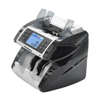 Aibecy Mehrwährungs-Bargeld-Banknoten-Geldschein-automatischer Zähler, der Maschine mit UV MG misst MIR-IR-Falschgeld-Detektor unterstützt Gemischtwert-Zählfunktion für EURO / USD / GBP / AUD / JPY / KRW